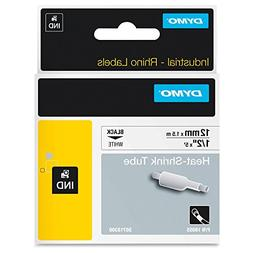 DYMO 18055 Rhino Heat Shrink Tubes Industrial Label Tape, 1/