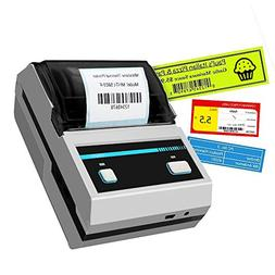 Thermal Printer, 2inch Barcode Label Printer Portable Therma