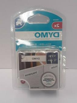 DYMO Standard D1 Polyester Tape for Label Makers, 1/2-inch,