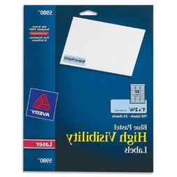 Avery High-Visibility Laser Printable Labels